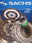 VW GOLF PLUS MKV 2.0 TDI 16V SACHS DUAL MASS FLYWHEEL, CLUTCH & CSC SLAVE BRG